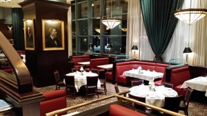 Capital Grille custom woodworking project