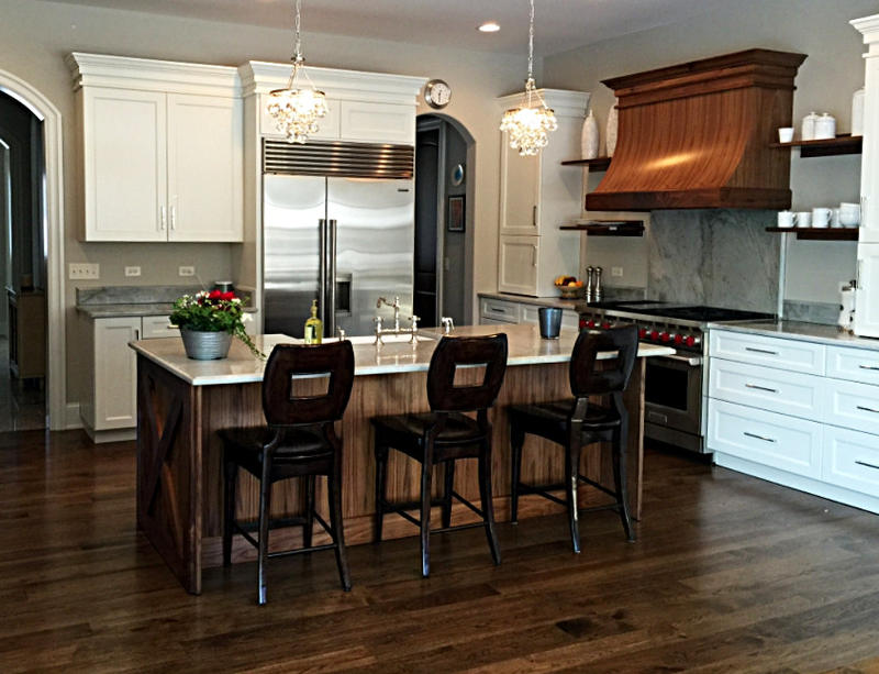 Beau Commercial And Residential Woodworking Cabinets Chicago IL | Hand Made Custom  Cabinets