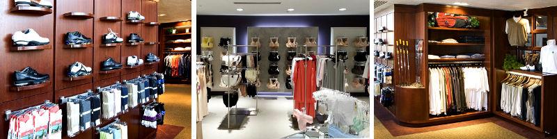 Custom showroom and retail displays.